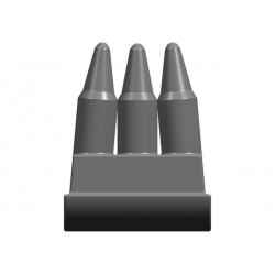 BrickKIT - Ammo Dark Grey