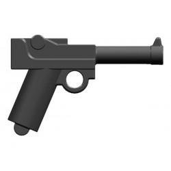 BrickKIT - Parabelum P08 Luger Gunmetal