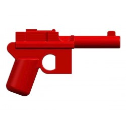 BrickKIT - Mauser C96 Red