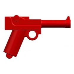 BrickKIT - Parabelum P08 Luger Red