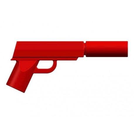 BrickKIT - Spy Gun Red