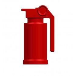 BrickKIT - M84 Stun Grenade Red
