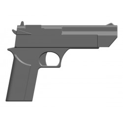 BrickKIT - Desert Eagle Dark Bluish Gray