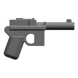 BrickKIT - Mauser C96 Dark Bluish Gray