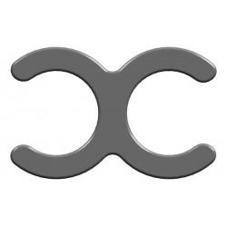 BrickKIT - Clip Dark Bluish Gray