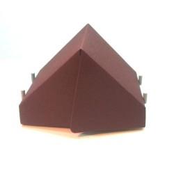 Brick KIT Namiot Ciemno czarwony