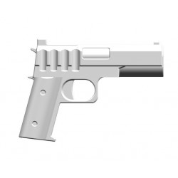 BrickKIT - Colt 45 White