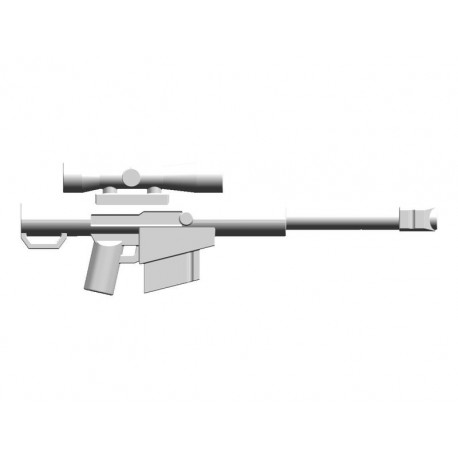 BrickKIT - Barrett M82 White