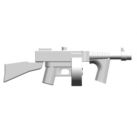 BrickKIT - Tommy Gun M1928 White