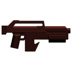 BrickKIT - M41A Pulse Rifle Brown
