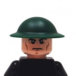 BrickKIT - Mark I Helmet Dark Green