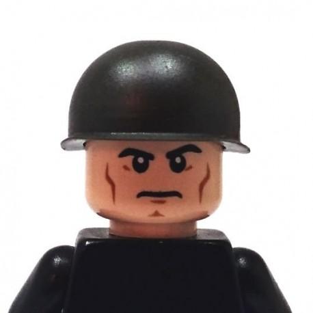 BrickKIT - US Army M1 Helmet Gunmetal