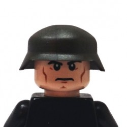BrickKIT - German Helmet  Gunmetal