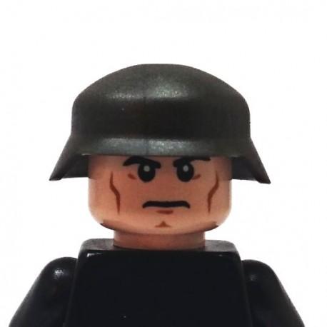 BrickKIT - German Helmet  Gunmetal