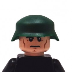 BrickKIT - US Army M1 Helmet Dark Green
