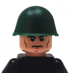 BrickKIT - Soviet Helmet Dark Green