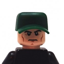 BrickKIT - Combat Hat Dark Green