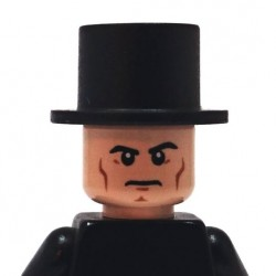 BrickKIT - Lincoln Hat Black