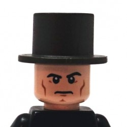 BrickKIT - Lincoln Hat  Gunmetal