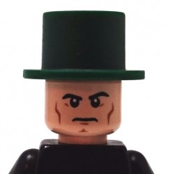 BrickKIT - Lincoln Hat Dark Green