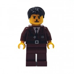 "Custom Minifig - German Soldier ""Adolf"""