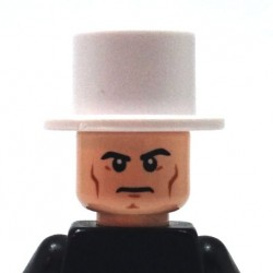 BrickKIT - Lincoln Hat White