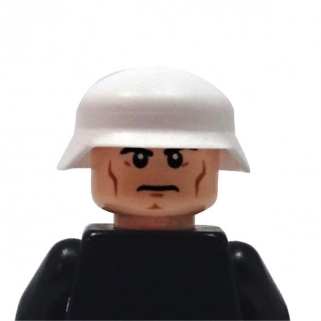 BrickKIT - German Helmet White